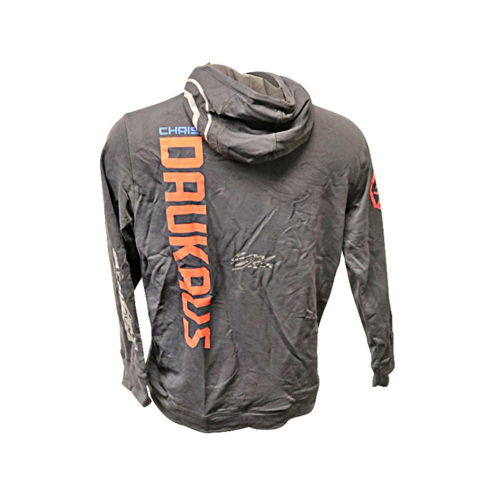Chris Daukaus Autographed Event Worn Hoodie from UFC Fight Night: Moraes vs Sandhagen in UFC Fight Island, Abu Dhabi