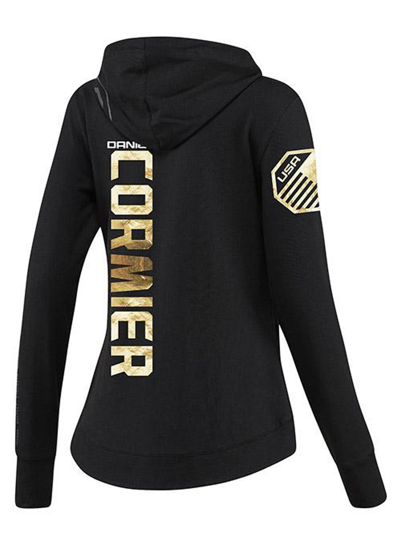 Women's Reebok Daniel Cormier Champion UFC Fight Night Walkout Hoodie Replica