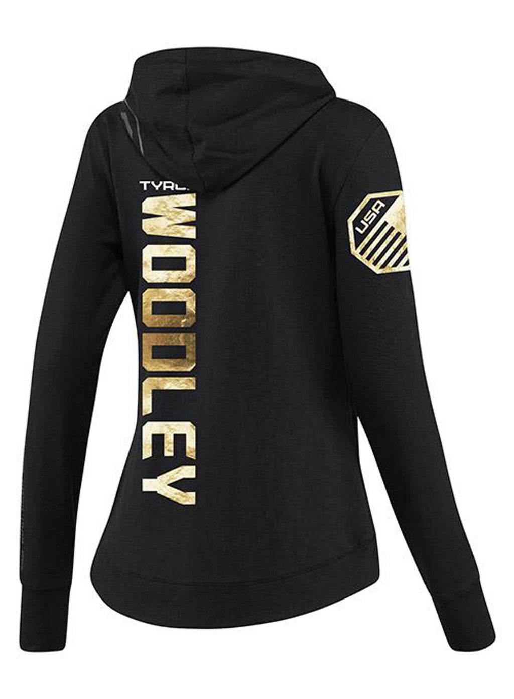 Womens Reebok Tyron Woodley Champion UFC Fight Night Walkout Hoodie Replica