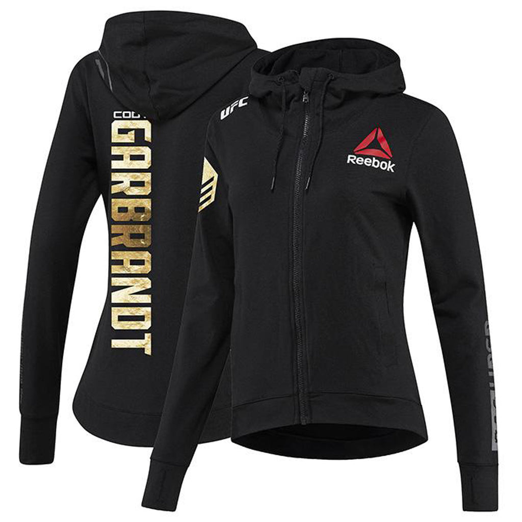 Womens Reebok Cody Garbrandt Champion UFC Fight Night Walkout Hoodie Replica