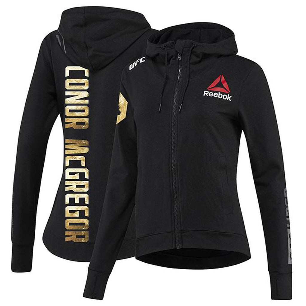 Women's Reebok Conor McGregor Champion UFC Fight Night Walkout Hoodie Replica