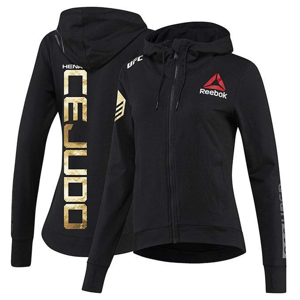 Women's Reebok Henry Cejudo Champion UFC Fight Night Walkout Hoodie Replica