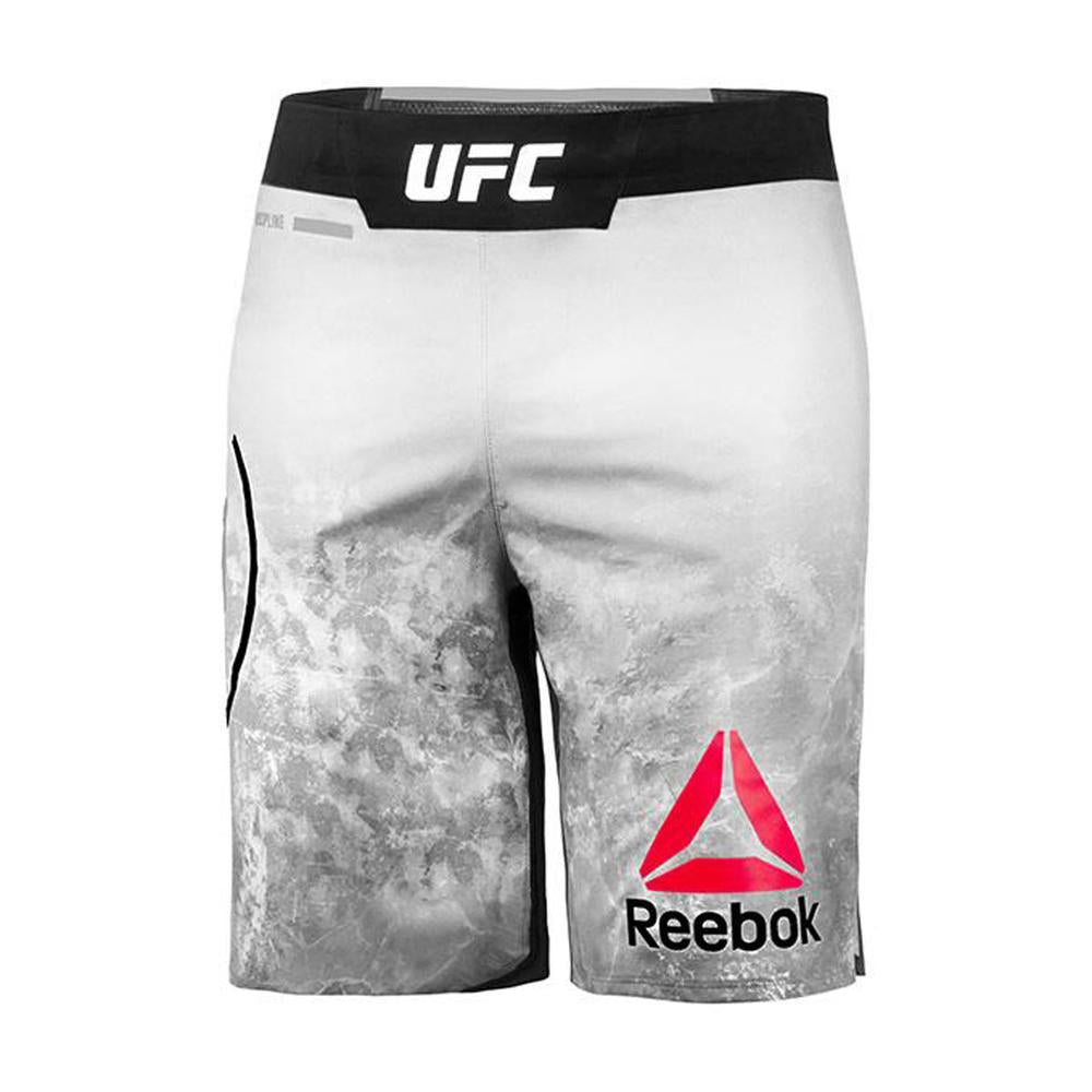 Men's Reebok Authentic UFC Octagon Trunk Short Long-Skull Grey
