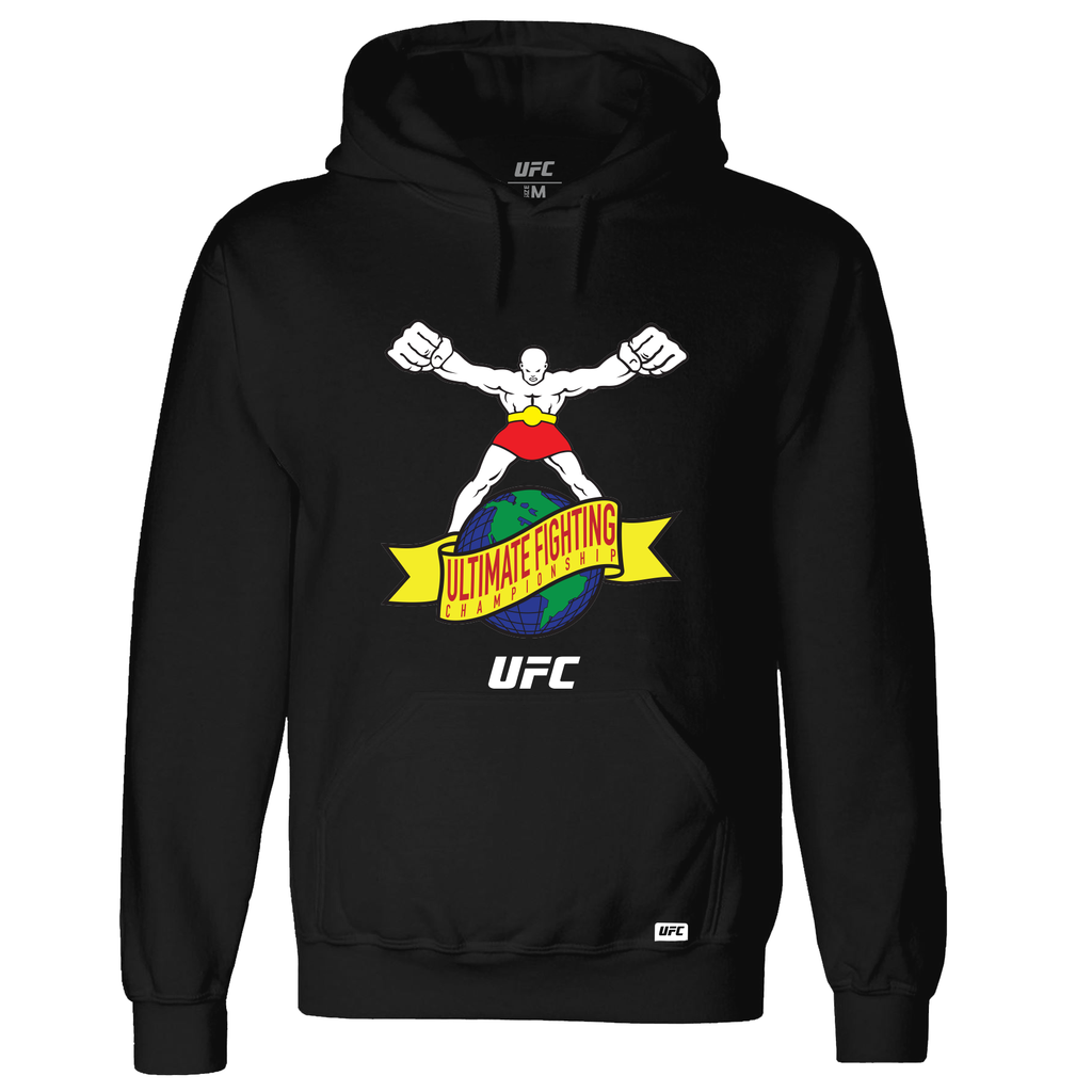 "UFC ""Ulti-Man"" Ultimate Fighting Championship Hoodie- Black"