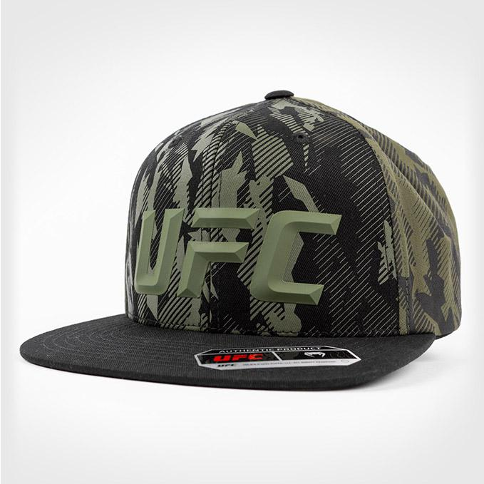UFC VENUM Authentic Fight Week Men's Green Snapback Hat