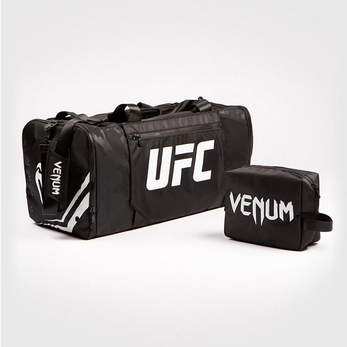 UFC VENUM Authentic Fight Week Black/White Gear Bag