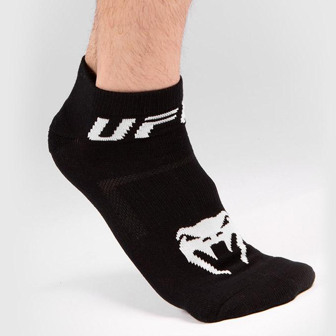 UFC VENUM Authentic Fight Week Unisex Black Performance Sock