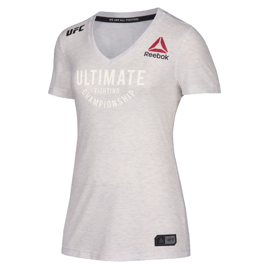Women's Reebok Chalk Authentic UFC Fight Night Walkout Jersey