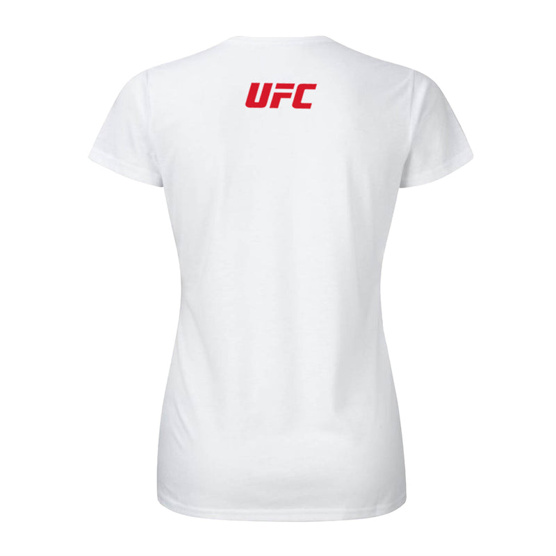 I love UFC Custom Women's T-Shirt -White