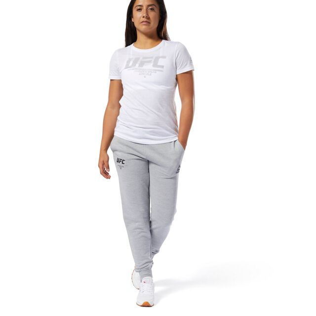 UFC Reebok Fan Gear Fight Week Womens Jogger-Grey