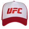 UFC Embroidered Trucker Cap Large Logo Red