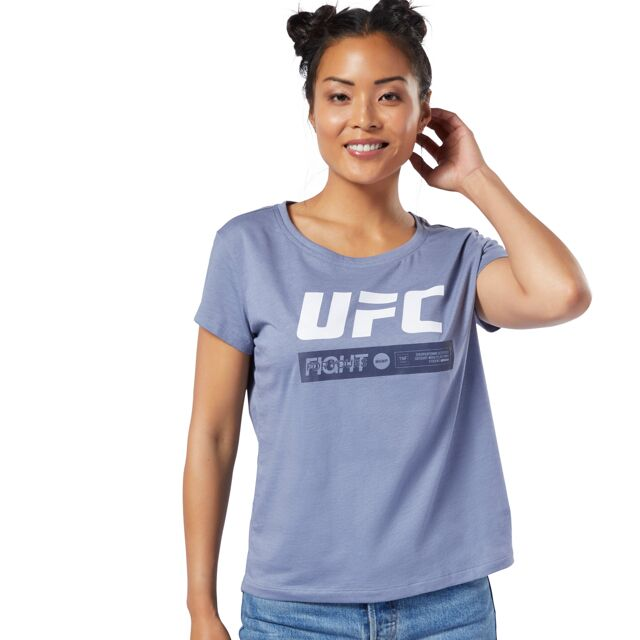 UFC Reebok Fan Gear Fight Week Womens Tee - Blue