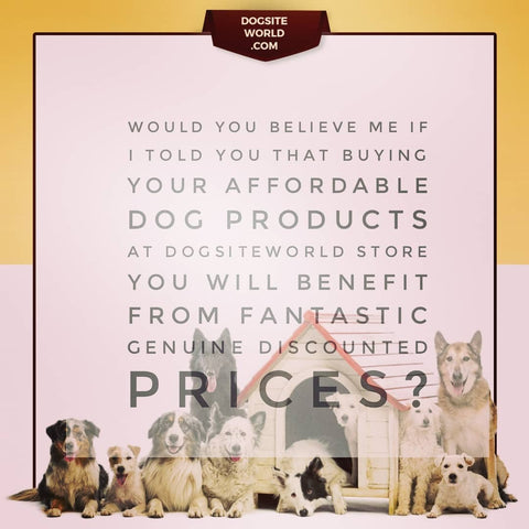 buy dog products at DogSiteWorld Store