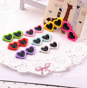 50pcs Colorful Pet Dog sun glasses hair clips Cute Doggy Puppy hairpin