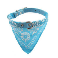 7 Color Print Dog Collar Pet Puppy Scarf Leash