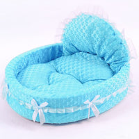 Princess Dog Bed Soft Sofa
