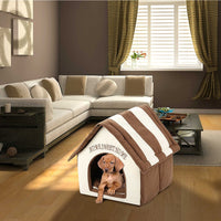 Plush Pet Dog House Bed Pet Supplies
