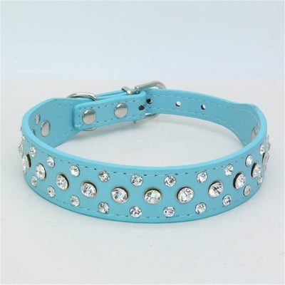 PipiFren Small Dogs Collars Rhinestone