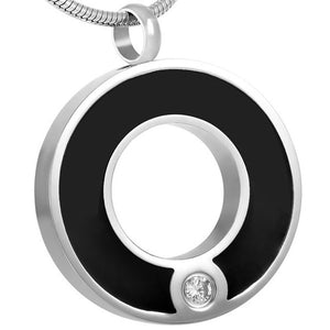 IJD8074 Pet Dog Memorial Necklace Stainless Steel
