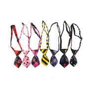Polyester Silk Pet Dog Tie Adjustable Dog Bow Tie