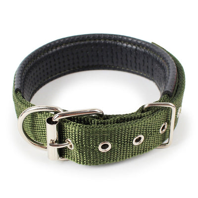 Soft Nylon Collars for Dogs 4 Colors Adjustable Sports Necklace