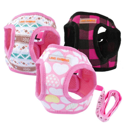 Puppy Dog Harness and Walking Leads Set
