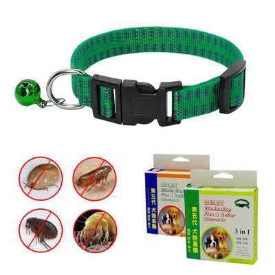 Safety Dog Cat Outdoor Anti Flea Mite Tick Collar Neck Strap Adjustable