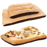 Large Dog Bed Mat Pet Cushion Mat Mattress Cotton