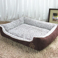 Large Dog House Bed  Waterproof Detachable Lounger Sofa