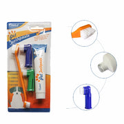 New Pet Toothbrush Dog Brush Breath Double Head Teeth Care