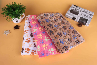 Coral Fleece Transfer Dog Bed