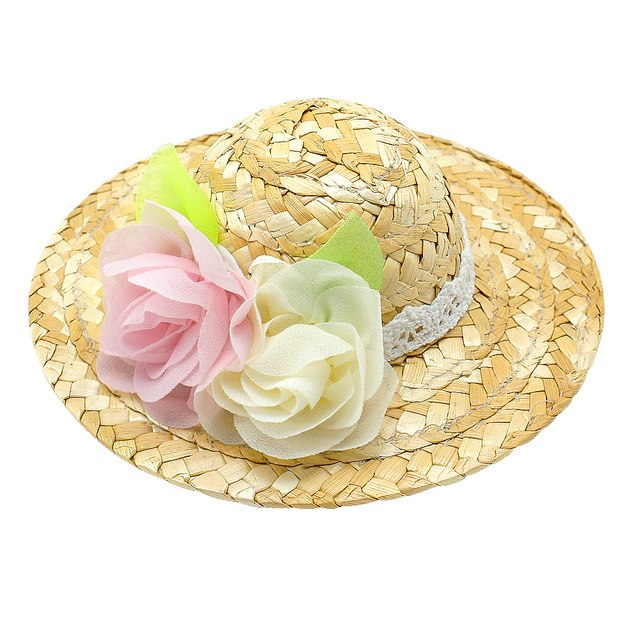 Summer Dog Cap Straw Dogs Sombrero