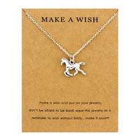 Dogs Footprints Paw Animal Chain Pendants Necklaces