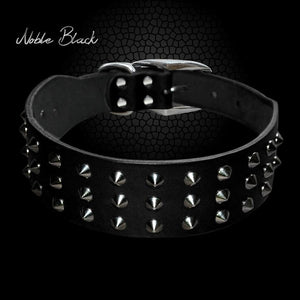 Cool Rivets Studded Best Genuine Leather Pet Dog Collars