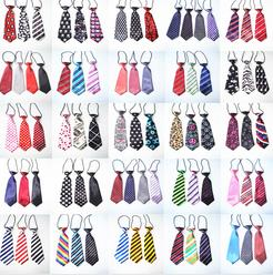 Stripes Large Dog Ties Neckties For Big Dogs Grooming Bow Ties Pet Supplies