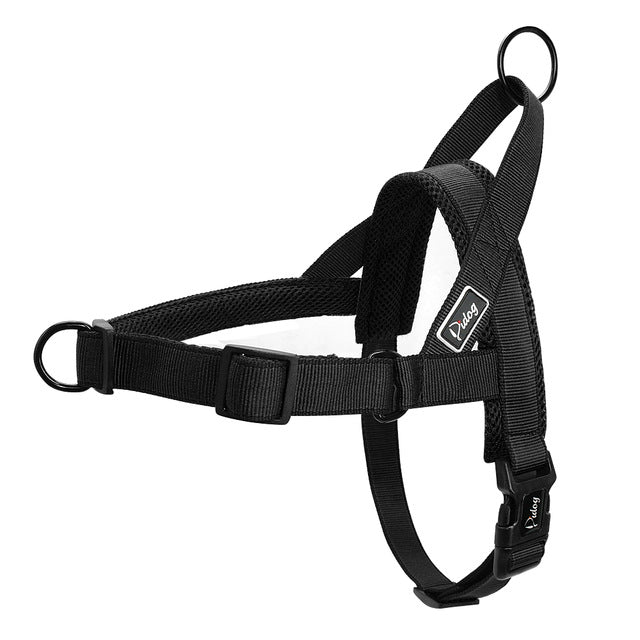 No Pull Dog Harness Quick Fit Nylon Dogs Harnesses