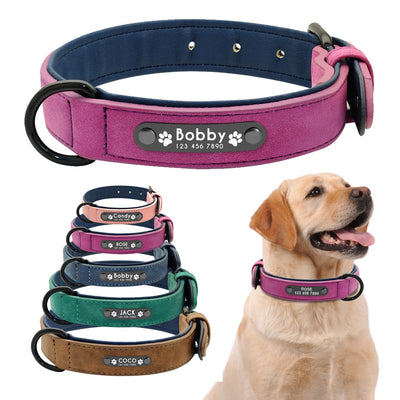 Personalized Dog Collar Custom Leather Dog Collars
