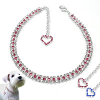 Bling Rhinestone Dog Collar Pet Crystal Diamond