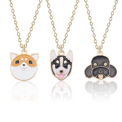 Dog Necklace Pendants Jewelry