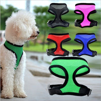 Adjustable Comfort Soft Breathable Dog Harness