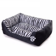 Waterproof Pet Bed Zebra Patterns Sweety Dog House