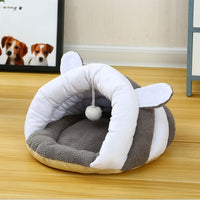 Small Dog Puppy Kennel Bed Sofa Sleeping