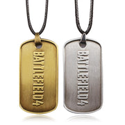 BF4 Battlefield 4 Dog Tag badges Military Card Necklaces Pendants