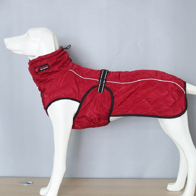 Pet Dog Clothes Big Large Dog Jacket Coat Winter Soft Warm Fleece
