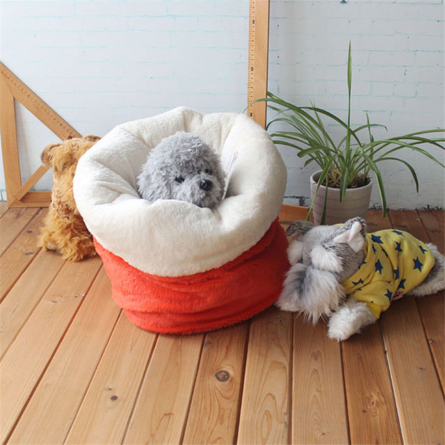 Cute pet Sleeping Bag Warm Soft Dog