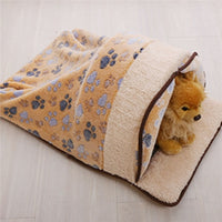 Pet Dog Puppy Cat Warm Sleeping Cushion Bed House