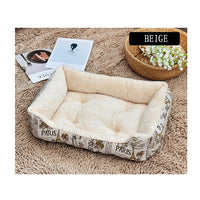 Soft Pet Dog Bed Mats Fleece Lounger Sofa Nests