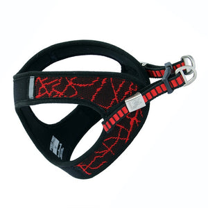 Pet Supplies Outdoor Reflective Dog Harness Adjustable Harness Vest Collar