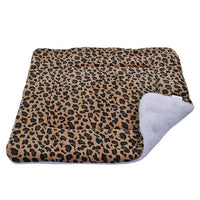 Winter Dog Bed Blanket Soft Fleece
