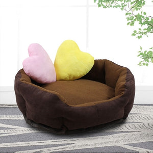 WCIC Soft Warm Dog Bed
